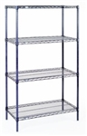 "14""d x 63""h Nexelon Rust-Proof 4 Shelf Units"