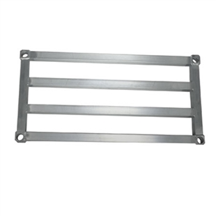 "18""d H.D. Aluminum Shelf"