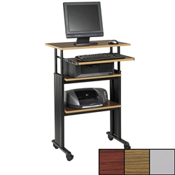 Adjustable Height Stand-Up Work Stations