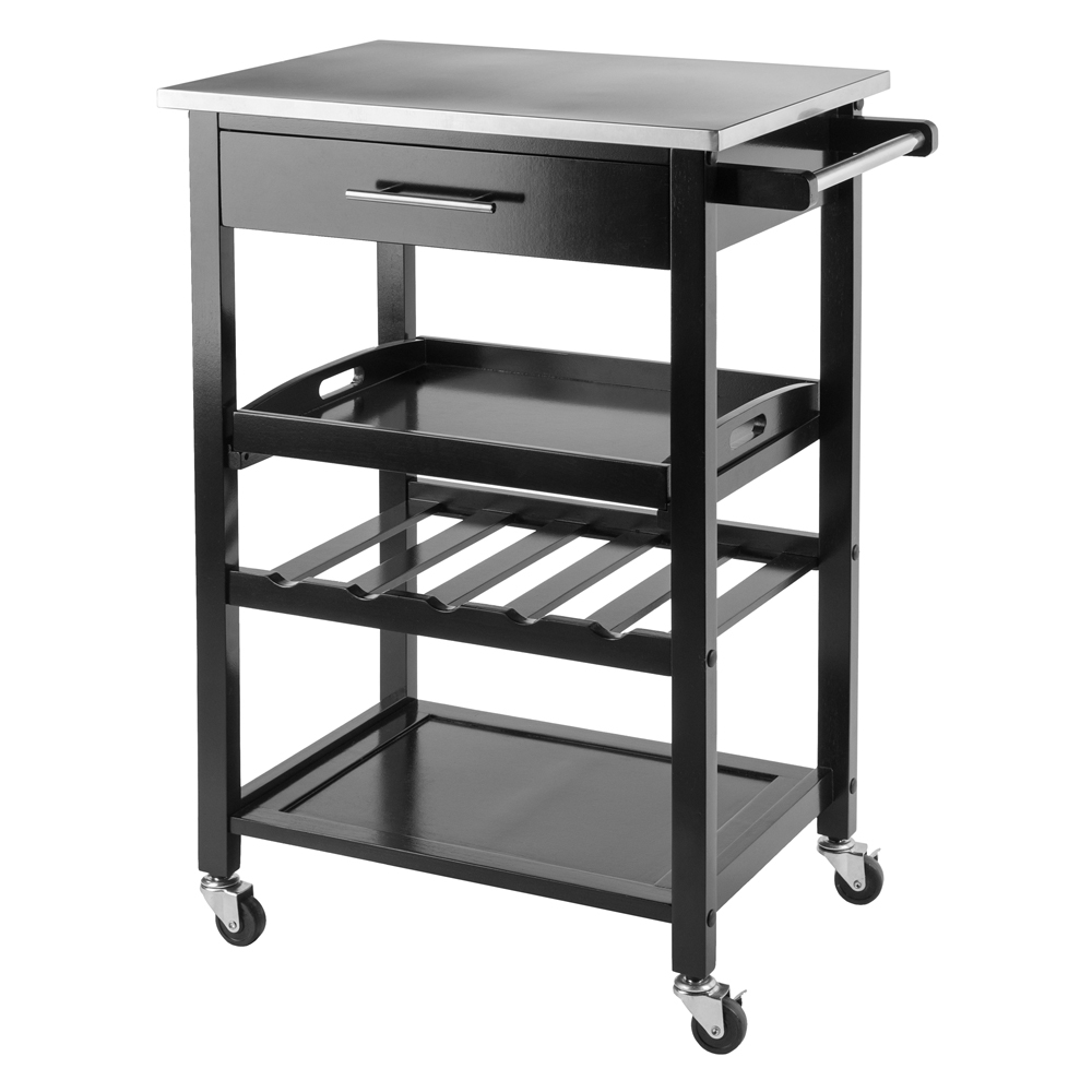 Anthony Kitchen Cart Stainless Steel