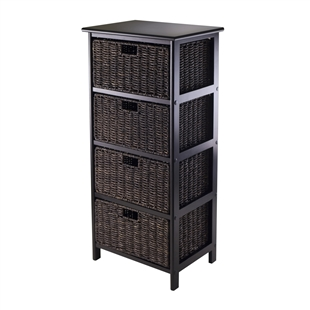 Omaha Storage Rack w/ 4 Baskets