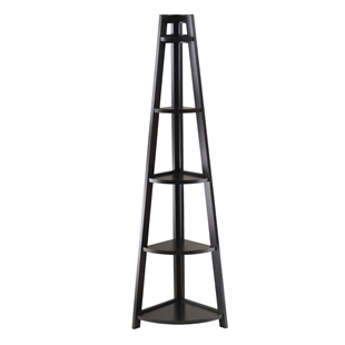Adam 5-Tier A-Frame Corner Shelf