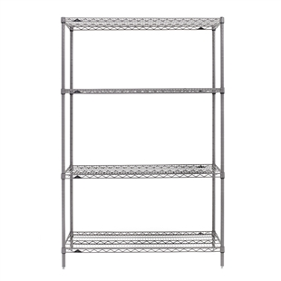 "21""d x 63""h - Super Erecta 4-Shelf Units"