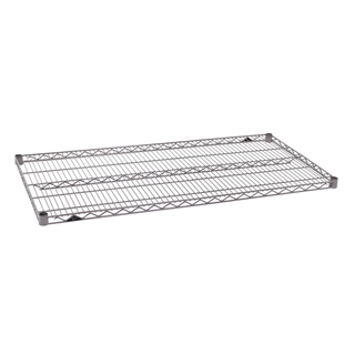"21""d Super Erecta Wire Shelves - Metroseal 4"