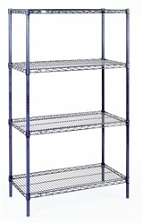 "24""d x 74""h Nexelon Rust-Proof 4-Shelf Units"