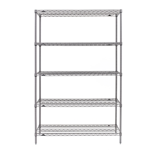 "24""d x 74""h - Super Erecta 5-Shelf Units"
