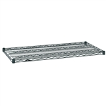 "Metro Wire Shelves - Smoked Glass - 24""d"