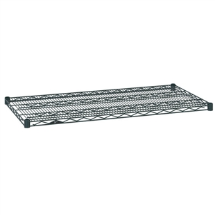 "24""d Metro Wire Shelves - Smoked Glass"
