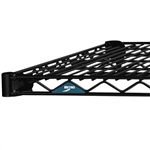 "24""d Metro Super Erecta Wire Shelves - Black"