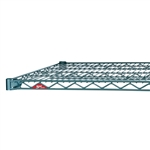 "24""d Super Erecta Wire Shelves - Metroseal 3"
