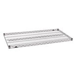 "24""d Super Erecta Wire Shelves - Metroseal 4"