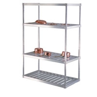 "24""d T-bar Aluminum Shelving Kit"