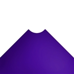 "24""d Plastic Wire Shelf Liners - Purple"