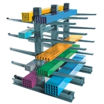"10'h Heavy Duty Cantilever Rack with 54"" Arms"