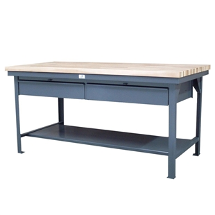 Stronghold Maple Top Shop Tables