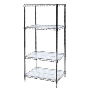 "18""d Acrylic Wire Shelf Liners - 2-Pack"