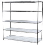 "30""d Acrylic Wire Shelf Liners - 2-Pack"