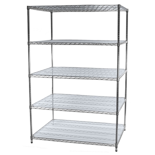"36""d Acrylic Wire Shelf Liners - 2-Pack"