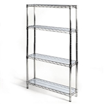 "8""d Acrylic Wire Shelf Liners - 2-Pack"