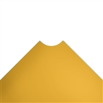 "30""d Plastic Wire Shelf Liners - Dark Yellow"