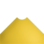 "30""d Plastic Wire Shelf Liners - Light Yellow"