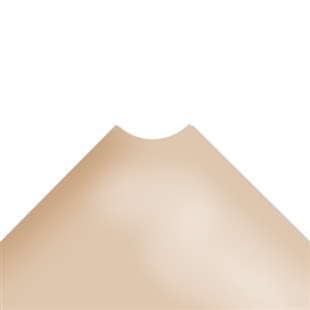 "36""d Plastic Wire Shelf Liners - Beige"