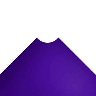 "36""d Plastic Wire Shelf Liners - Purple"