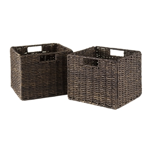Granville 2-Piece Small Corn Husk Baskets
