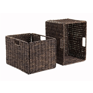 Granville 2-Piece Tall Baskets Corn Husk