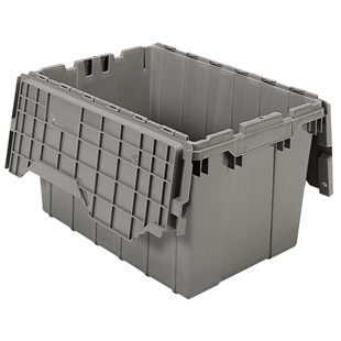 6 Akro Attached Lid Containers - 12 Gallon
