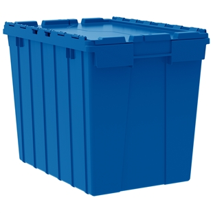 3 Akro Attached Lid Container - 17 Gallon