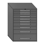 Modular Drawer Cabinets - 10 Drawers