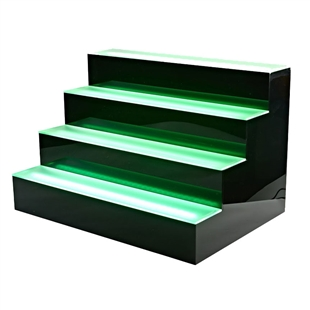 Four Tier LED Bottle Display