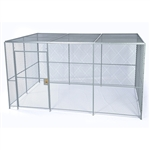4 wall Woven Wire Mesh Partition, Security Cage
