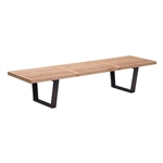Heywood Triple Bench Natural