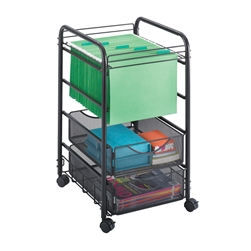 Open Mesh Hanging File with 2 Drawers, office organizer