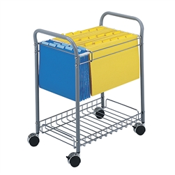 Steel framed Wire Cart for Hanging Files
