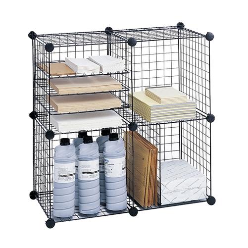 Wire Grid Cubes | Dorm Room Storage- Safco