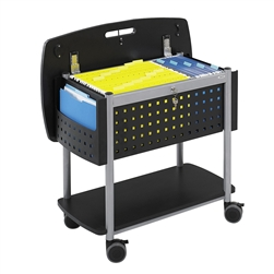 Scoot Mobile File with Work Surface and File Pockets