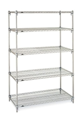 "21""d Metro Wire 5 Shelf Starter Kits"