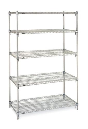 Metro Adjustable Wire Shelf Starter Kits (24\