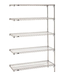 "21""d Metro Wire 5 Shelf Add On Kits"