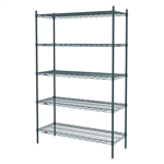 "21""d x 74""h Super Erecta 5-Shelf Units"