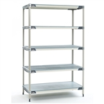 "18""d MetroMax i Antimicrobial 5-Shelf Units"