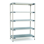 "24""d MetroMax i Antimicrobial 5-Shelf Units"
