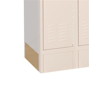 End base plate for School Lockers