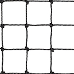 "120""h Pallet Rack Safety Netting w/ 1.75"" Mesh"