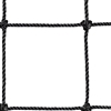 "120""h Pallet Rack Safety Netting w/ 4"" Mesh"