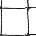 "48""h Pallet Rack Safety Netting w/ 4"" Mesh"