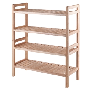 Mercury 2-Piece Stackable Shoe Rack Set